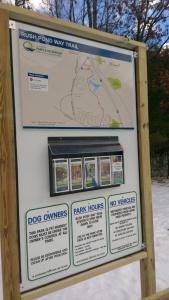 Rush Pond Way Trail Map/Kiosk
